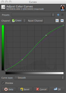 CrossProcess_tut_greenCurves