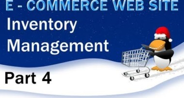 4. E – Commerce Website Tutorial – PHP MySQL Inventory Management