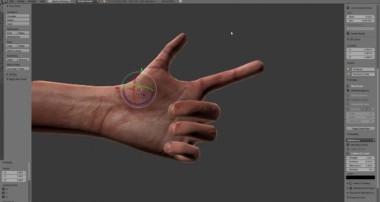 Rigged Hands – Blender 3d Model Download