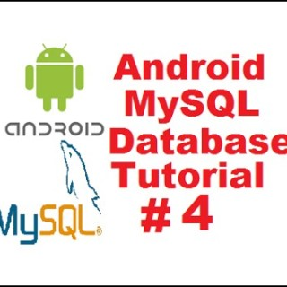 Android MySQL Database Tutorial 4 – Insert Data in Mysql Database using Registration Form