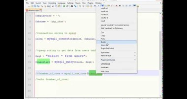 PHP Tutorial – Connecting to MYSQL, Getting Data and Displaying in a Web Page