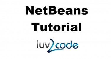 Java NetBeans Tutorial:  Connecting to a MySQL Database with Java, JDBC and NetBeans