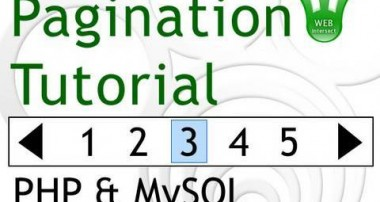 Pagination Tutorial for PHP MySQL Programmers – Web Intersect Paging Database Results