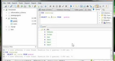 MySQL SELECT Tutorial | 6
