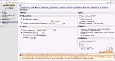 PHP-MySql-Tutorial: Daten in eine Tabelle schreiben