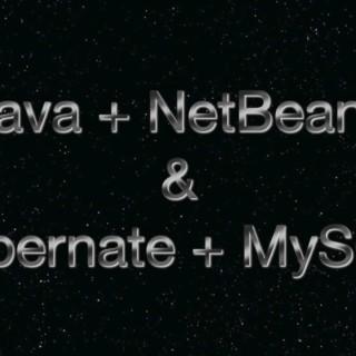 [Java] Tutorial 1 – NetBeans, Hibernate & MySQL