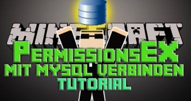 PermissionsEx mit MySQL verbinden Bukkit Minecraft 1.7.9 | German| | Tutorial |