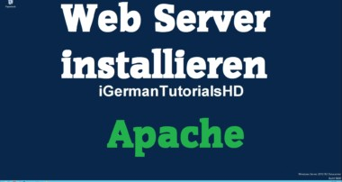 Web Server (Apache) auf Windows installieren – HTML / PHP Server – MySQL – XAMPP – Tutorial HD