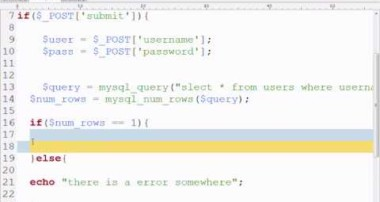 MySQL Tutorial 4 – Login Page Example