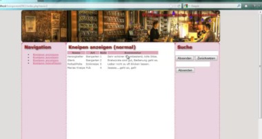 Kneipentest-Tutorial: Einleitung (HTML5, CSS3, PHP, MySQL, jQuery, JSON)