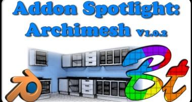 Archimesh v1.0.2 – Blender Addon Spotlight