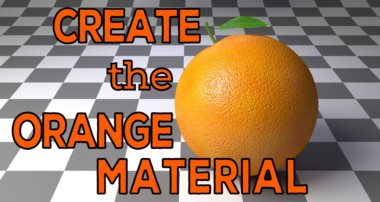 How to make the Orange material (Blender, Cycles)