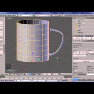 Blender 3D : How to model a cup using NURBS