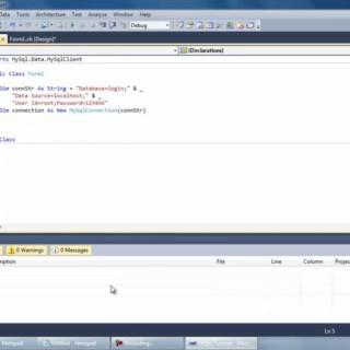 Creating a MySQL Login System Part 1 – Visual Basic Tutorial