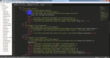 FLOTECH TUTORIAL: Setup  new project using  (PHP, + MySQL + Free CSS Template + Sublime Text)