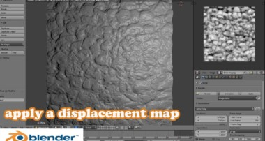 blender tutorial how to apply displacement maps