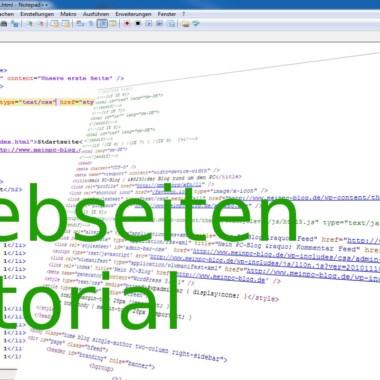 Tutorial: Webseiten erstellen #7: MySQL Datenbank erstellen und auslesen
