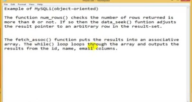 PHP Tutorial – select data from MySQL using MySQLi (PHP For Beginners)