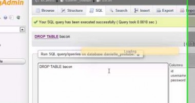 MySQL Database Tutorial – 31 – ALTER / DROP / RENAME TABLE