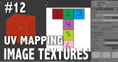 Blender 2.6 Tutorial 12 – UV Mapping (Image Textures)