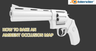 blender tutorial how to bake an ambient occlusion map