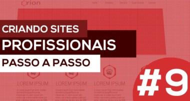 #9 – Como criar um site profissional passo a passo – SASS e Bootstrap