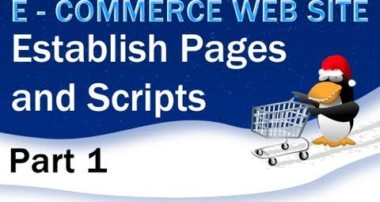 1. E – Commerce Website PHP Tutorial – Setting Up the Pages, Layout, and Templates