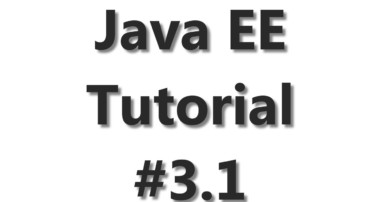 Java EE Tutorial #3 – JPA Database Connection Part 1