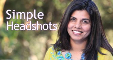 Simple Head Shots | Photography Tutorial