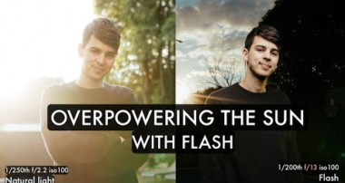Overpowering Sunlight vs. Using it (OFF CAMERA FLASH) Photography Tutorial