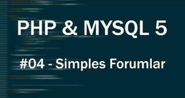 PHP & MySQL 5 Tutorial #04 – Simples Formular erstellen [Deutsch|HD]