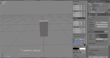 Blender, domino physics (not a tutorial)