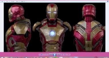 Blender Tutorial : making of iron man mark 43 #part 2