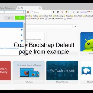 JAVA Web Tutorial Part.2 Using Bootstrap CSS