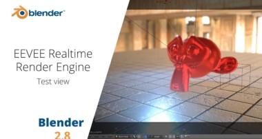 Blender EEVEE Test Look Blender 2.80 Experimental