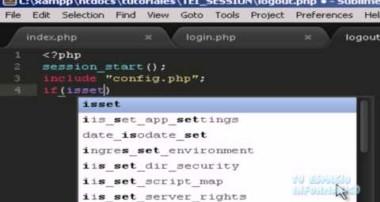 Tutorial de SESSION en PHP & MySQL – Tu Espacio Informatico