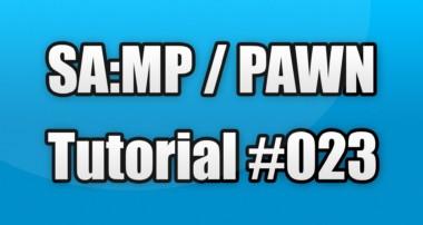 SA:MP / PAWN Tutorial #023 – Carsystem MySQL (Speichern, Laden, Löschen)