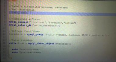 PHP Tutorial: Mit PHP auf MySQL Datenbank zugreifen