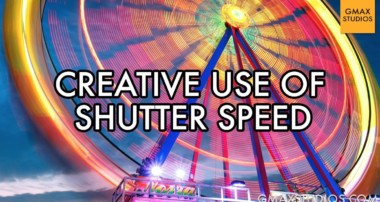 DSLR Photography Tutorials – How does Shutter Speed Affect Photographs? – Episode 6 | GMax Studios