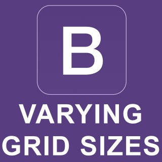 Bootstrap 4 Tutorial 4 – Varying Grid Sizes