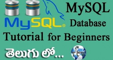 MySQL Database Complete Tutorial in Telugu for Beginners