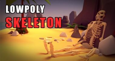Blender Tutorial – The Low Poly Skeleton