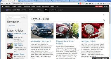 Drupal Bootstrap – 19 – Creating Article Views – Grid Layout