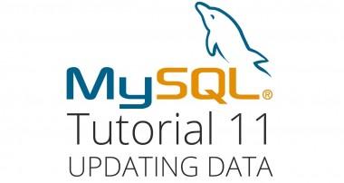 MySQL tutorial 11 – Update a row