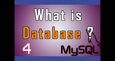 MySQL (RDBMS) video tutorial 04 – What is Database ?