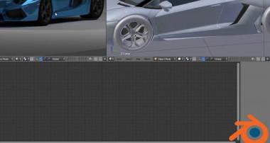 Blender Animation LAmborghini 2014 Blender tutorial Node Set up for New car from Sketh file