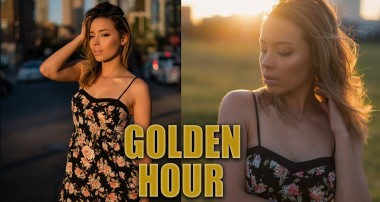 Take better GOLDEN HOUR portraits | Natural light Photography Tutorial