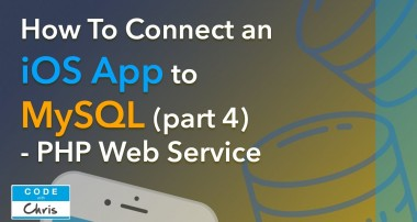 How to Connect an iOS App to a MySQL Database (Step by Step) – Part 4