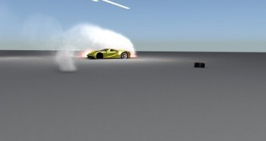 Physic Car wheel drifitng fail tutorial Blender