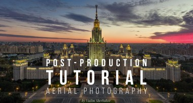 Aerial photography post production tutorial